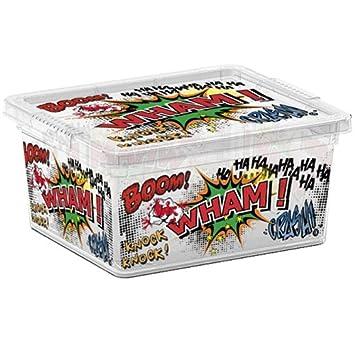 SIK Kis 8406000 1838 01 C Box, Comics-Caja de almacenaje plástico, 2 L: Amazon.es: Hogar