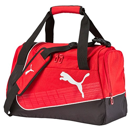 Puma borsa sportiva evoPOWER Small Bag, Unisex, Sporttasche evoPOWER Small Bag, Rosso - Red/Black/White, UA