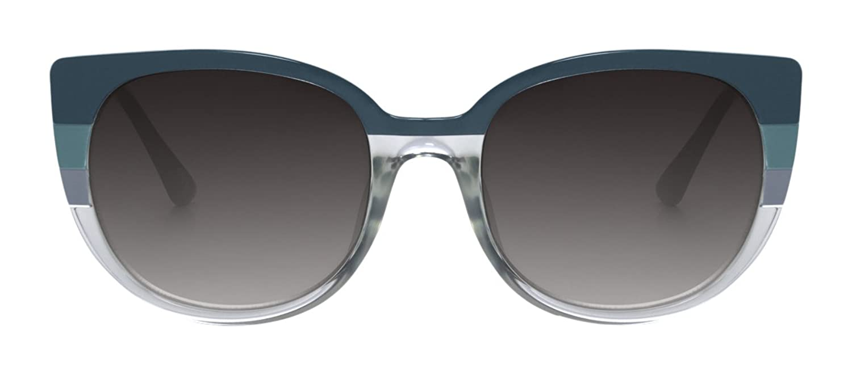 PERVERSE sunglasses Womans Hunbun Retro Round Sunglasses
