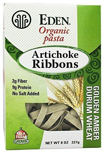 8 Ounce Ribbon (Eden Foods - Organic Pasta Artichoke Ribbons - 8 oz. by Eden Foods)