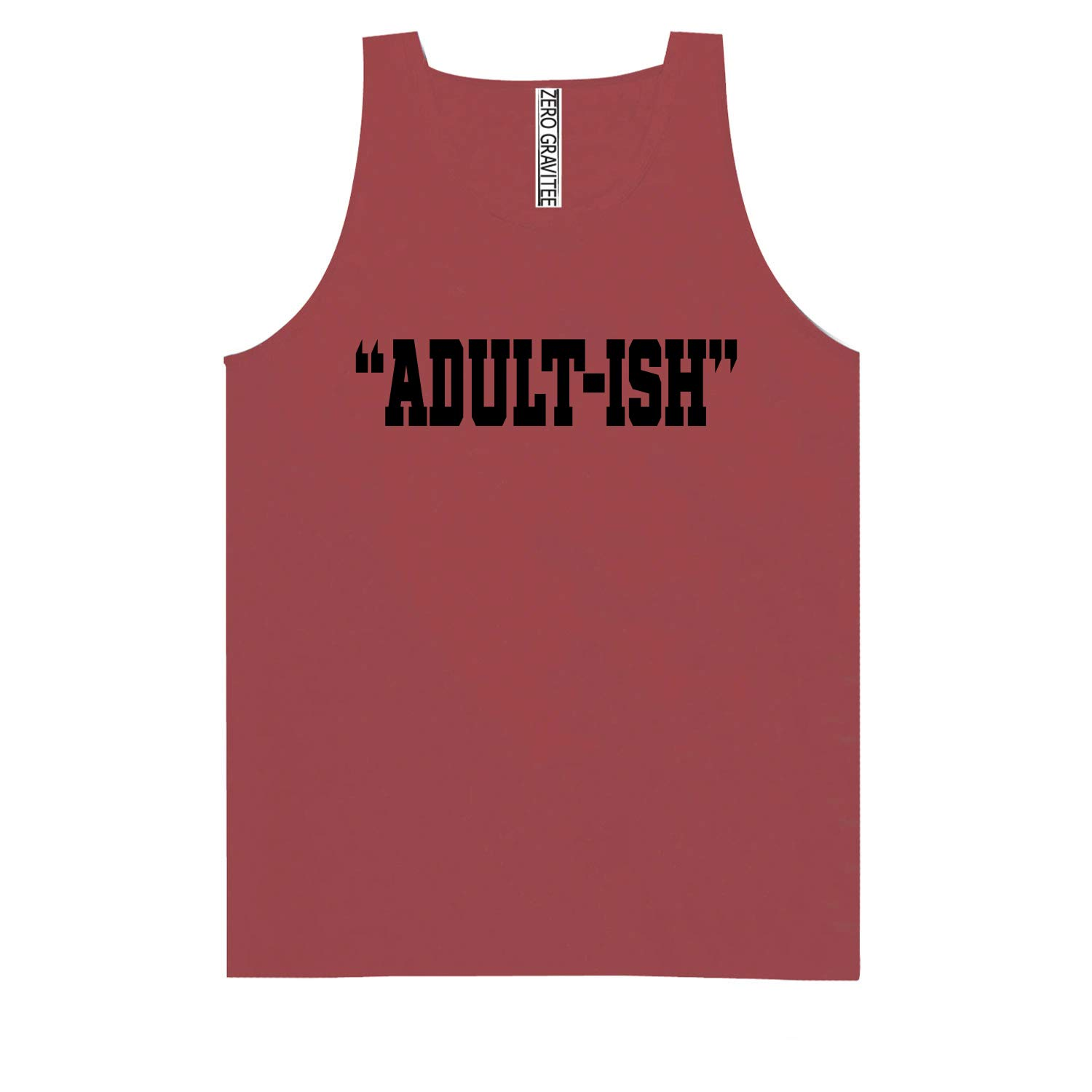 Adult-ISH Adult Pigment Dye Tank Top Black