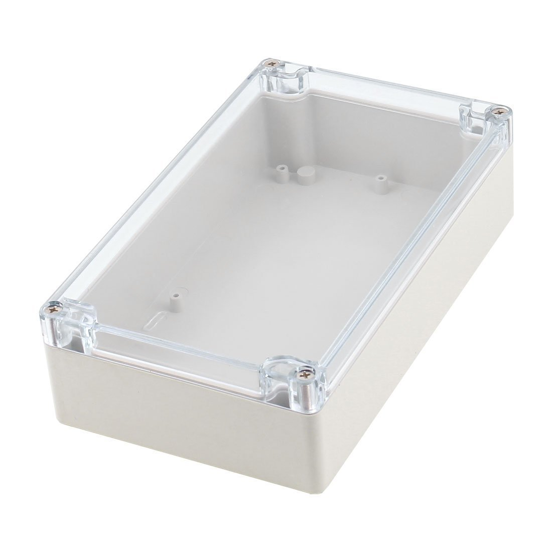 sourcingmap® Surface Mount Sealed Dustproof IP65 Plastic Electric Junction Box Switch Connection Enclosure Case 200mm x 120mm x 55mm a14110400ux0092