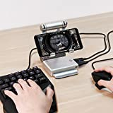 Amazing Keyboard and Mouse Converter for Hot PUBG Like, FPS, RoS, Mobile Legend games, Phone Holder, Power bank