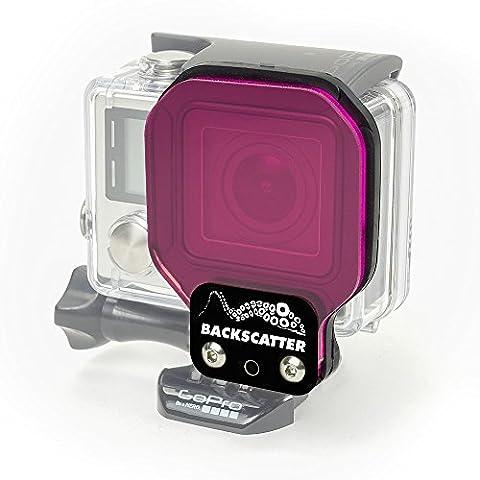 Backscatter FLEX GREEN Filter for GoPro Hero 4 and Hero 3+ (Magenta Green)