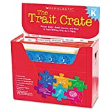 Scholastic 133803046 Trait Crate, Kindergarten, Six Books, Learning Guide, CD, More