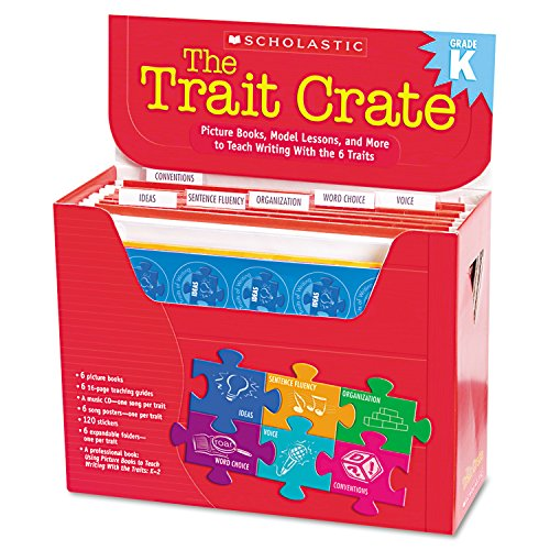 Scholastic Trait Crate, Kindergarten, Six Books, Learning Guide, CD, More (0545074703) by Scholastic
