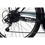 Momo-Design-Venezia-Bicicletta-elettrica-a-pedalata-assistita-Unisex-Adulto-Nero-Unica