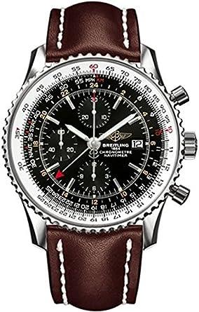Armbanduhr breitling  Breitling Herren-Armbanduhr Navitimer Chronograph Automatik Leder ...