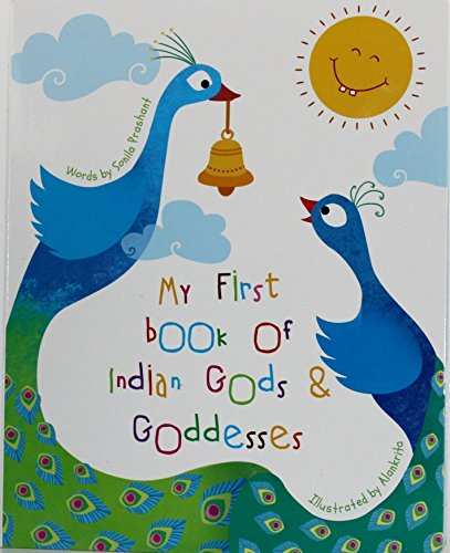 My First Book Of Hindu Gods and Goddesses - Children Picture Board Book Best Baby -