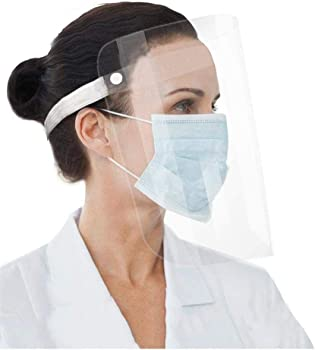 2-Pieces Rulunar Protective Mask Anti-Fog with Protective Film
