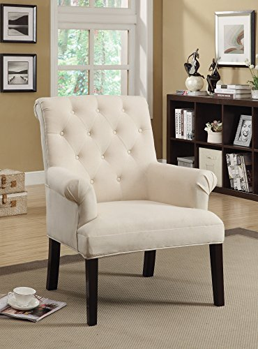 expresso accent chair - 4