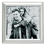 5 x 5 photo frame - Lawrence Frames Brushed Silver Plated 5 by 5 Metal Picture Frame