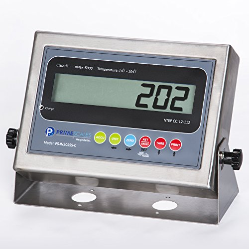 PS-IN202SS LCD Indicator by Prime Scales