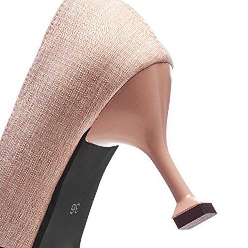 Heels KUKI Sandalen Schuhe Strass Einzel Größe Große Außenhandel Damen Pink Es High Spitz Women High Heels nFWxrF