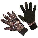 Mares Erwachsene Taucherhandschuhe Gloves CAMO 30, Schwarz/brown, XL, 422753