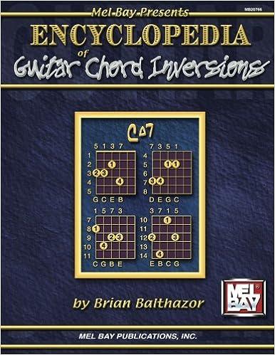 Mel Bay Encyclopedia Of Guitar Chord Inversions Brian Balthazor