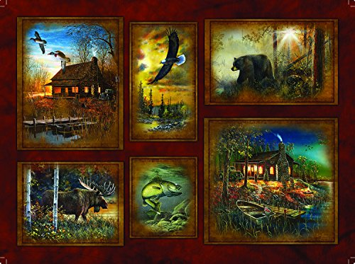 Scenic Lodge 1000 Pc Jigsaw Puzzle by SunsOut