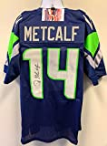 DK Metcalf Seattle Seahawks Signed Autograph Blue