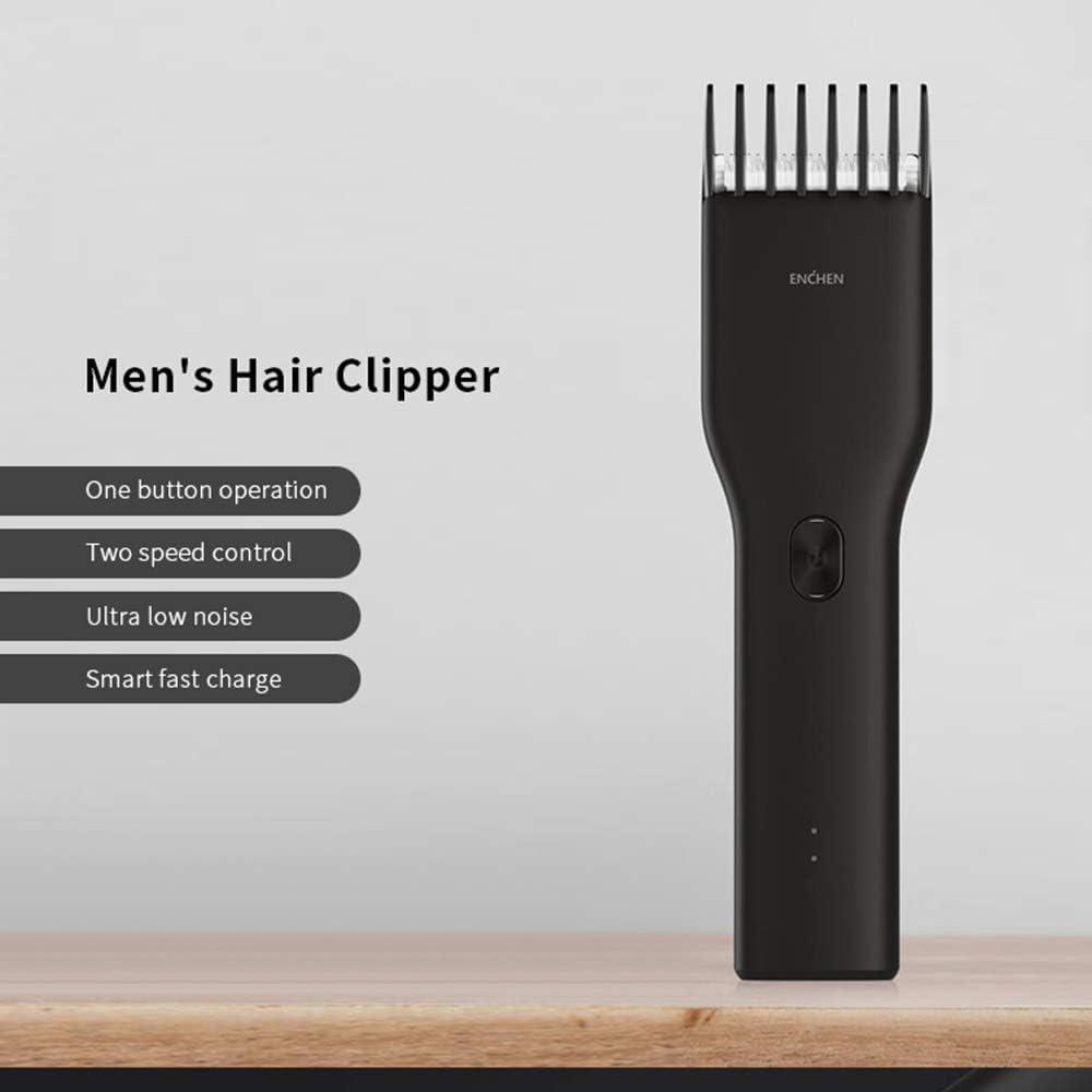 MIJIA Boost Recortadora de cabello inalámbrica recargable USB ...
