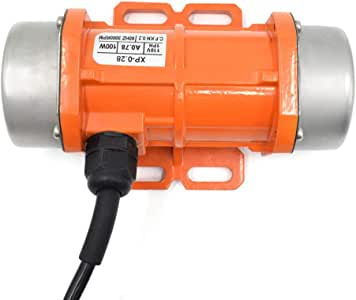 Concrete Vibrator Motor AC 110V 100W Single Phase for Concrete Vibrators Concrete Mixers Concrete Vibrating Table