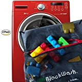 quad track tractor - Blockwash Clean and Sanitize Lego, Duplo Mega Bloks or any Plastic Toys (2 Pack) for Healthy Kids Wash Used Legos and Dirty Blocks, Health Board Approved for Daycare Cleaning Supplies