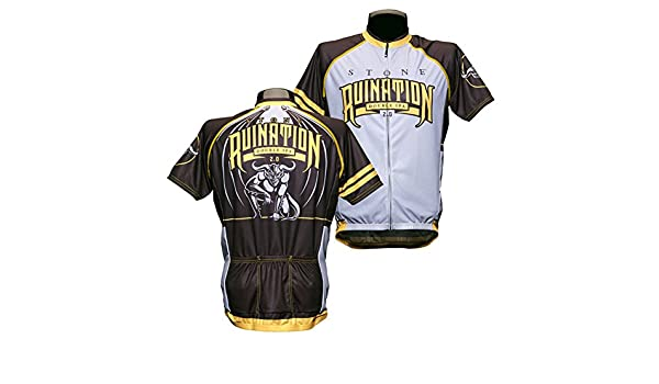 Amazon.com  Stone Brewing Ruination IPA Cycling Jersey  Clothing 46bbc44a9