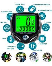 ARCELI SD-546C Cronómetro Duradero Luz de Fondo Velocímetro Odómetro Bicicleta Bicicleta Impermeable
