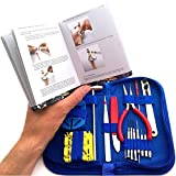 "EZTool Professional Watch Repair Tool Kit: Plus 41-Page Illustrated ""Maintenance & Service"" Manual"
