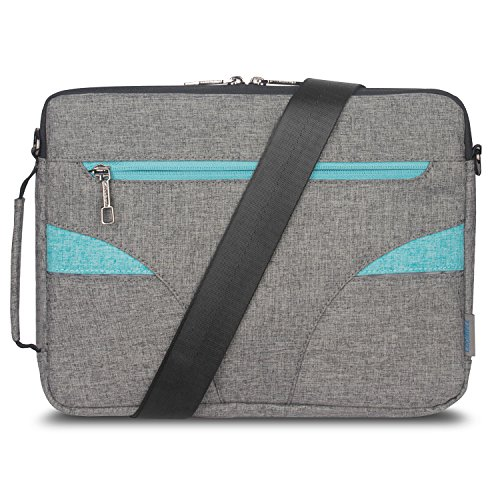 CoolBell 15.6 Inch Laptop Case With Handle Macbook Shoulder Bag Ultra-book Sleeve (Slim Laptop Case)