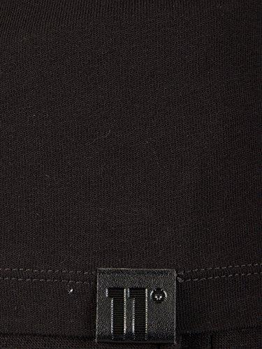 Longues Manches Homme Base Logo De shirt T 11 Degrees Noir IXgqUnUp