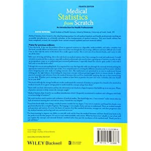 Medical Statistics from Scratch: An Introduction for Health Professionals Paperback – 11 Oct. 2019