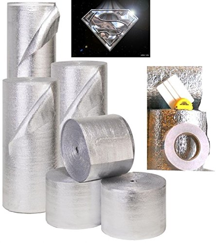 Dog House Insulation - ESP Low-E® SSR Reflective Foam Core Insulation Kit: Roll Size 24