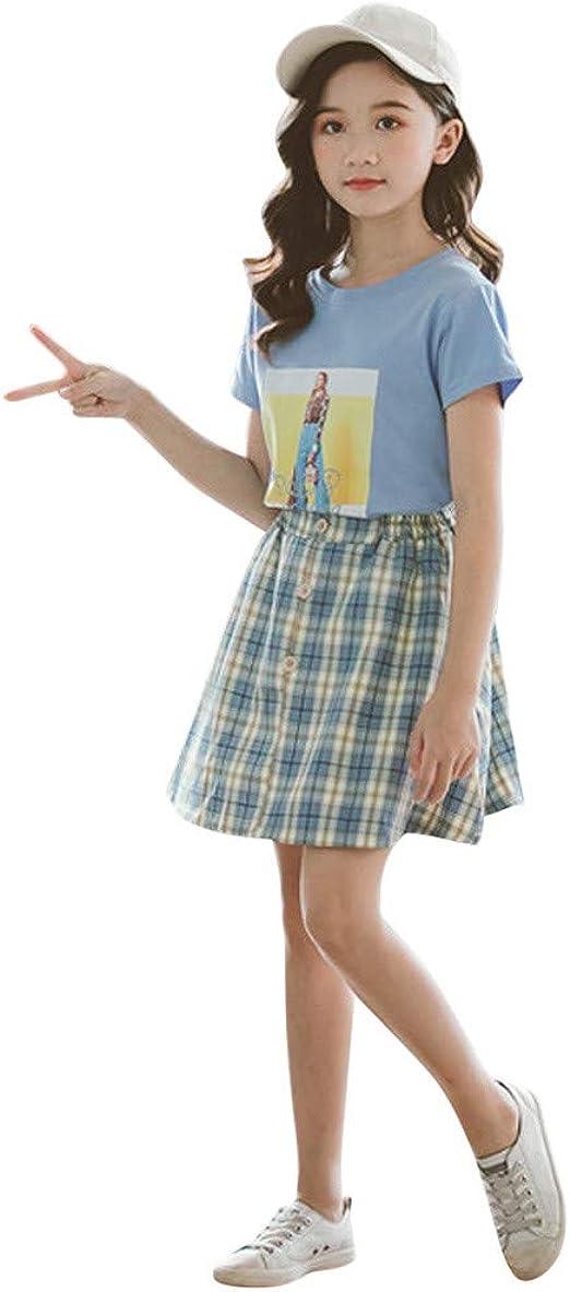 3-12 Años,SO-buts Bebés Niñas Moda Imagen Tops Camiseta ...