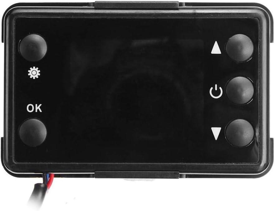 Hihey 12 V LCD Monitor Air Standheizung Schalter Controller f/ür Auto Track Diesel Luftheizung Universal Heizungsregler Schalter mit LCD Display