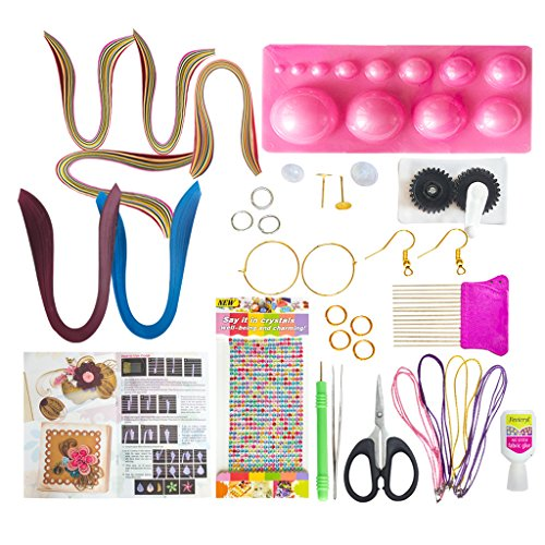 VIPRA-37-Piece-Quilling-Jewellery-Kit-with-2200-papers