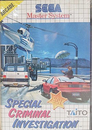 Special Criminal Investigation (S.C.I.) - Sega Master System