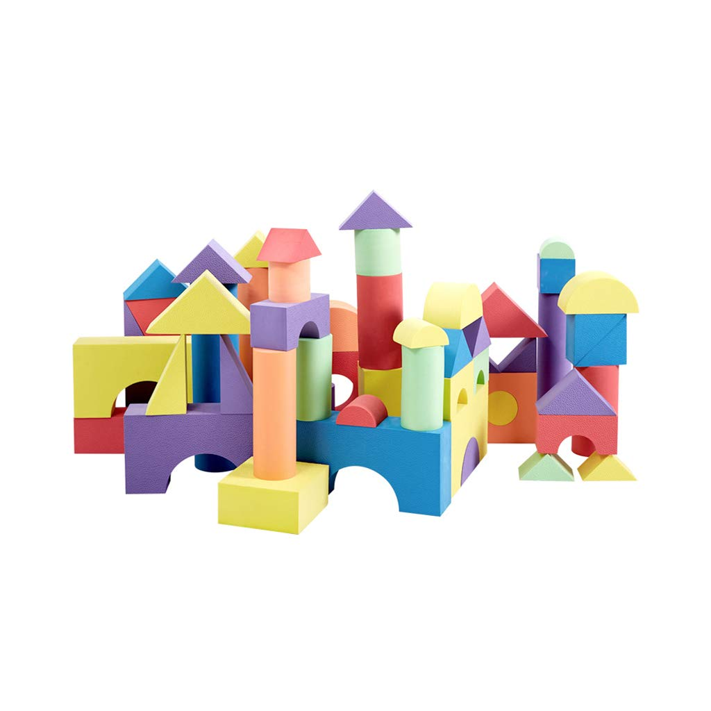 100%正規品 LIUFS-TOY 子供の泡のビルディングブロックの柔らかいスポンジのスペルの大きい幼児教育の知的おもちゃ (サイズ さいず 7 : 50 pieces - LIUFS-TOY cm) 7 cm) 50 pieces - 7 cm B07QZ9PJDZ, APOA:cc898da0 --- vezam.lt
