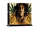 CSBC Skins Sony PS4 Design Foils Faceplate Set - Bob Marley Design