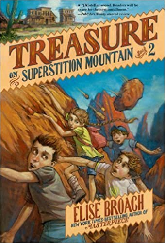 Treasure on Superstition Mountain (Superstition Mountain Mysteries) by Broach, Elise (February 11, 2014)