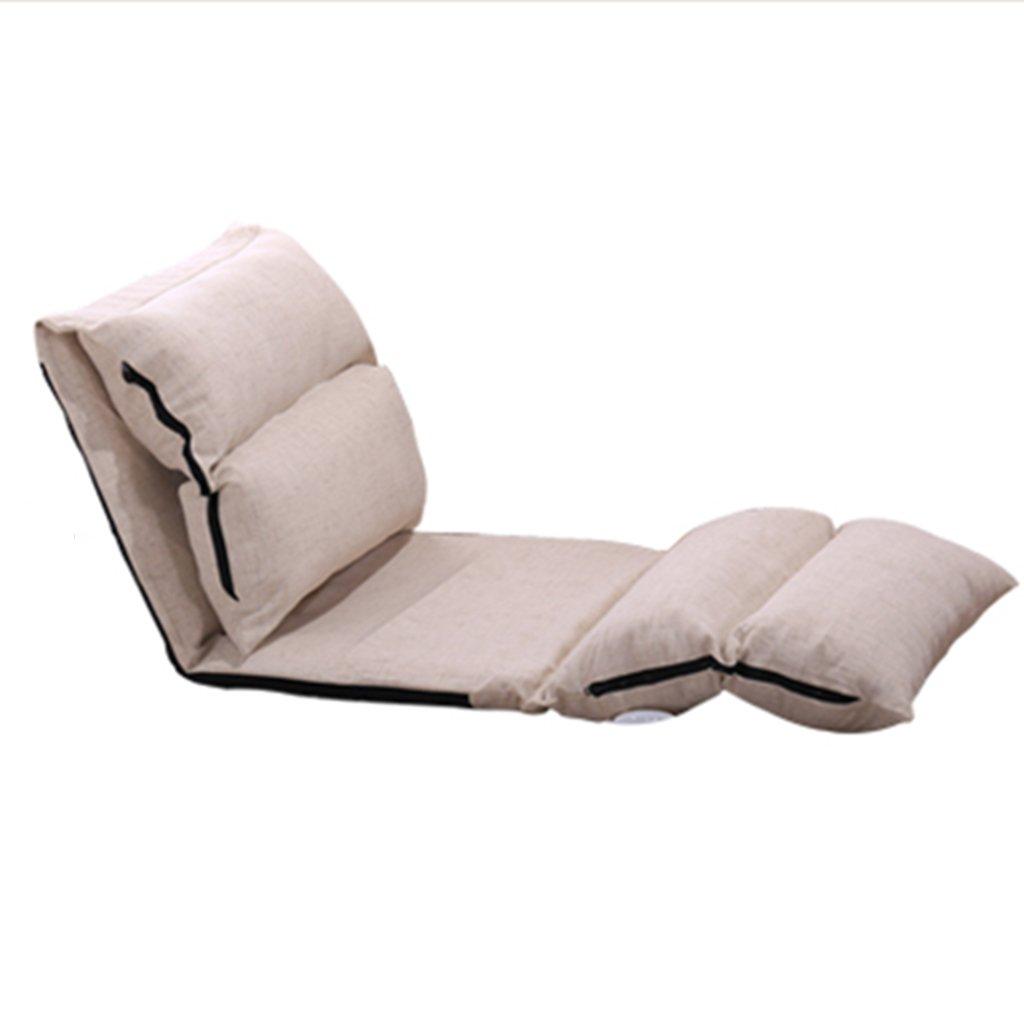 GRJH® Beanbag - pliable Multi-vitesse peut être ajusté Chambre petit canapé dossier chaise baie vitrée Portable -Pliant