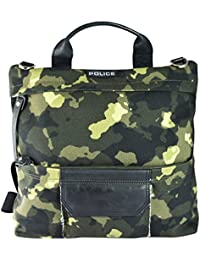 Canvas Crossbody/Backpack for Men and Women - Camouflage Print