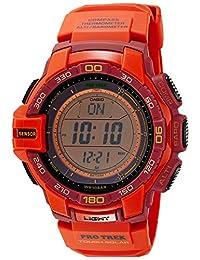 Casio Men's Protrek PRG270-4A Orange Resin Quartz Watch