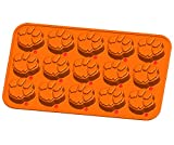Image of NCAA Clemson Tigers Ice Trays & Candy Mold, One Size, Orange