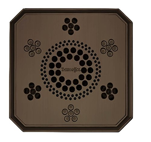 Rain System Shower Serenity Light, Sound Regency, Oil Rubbed Bronze (Orb Regency Light)
