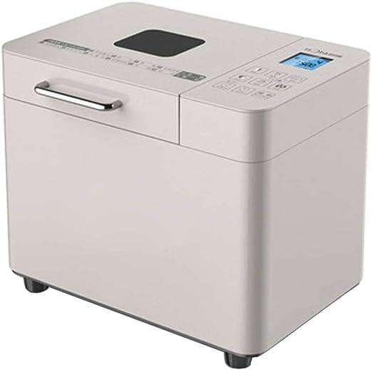 Bread-Panificadora,Panificadora completamente automática,Panificadora,Máquina de pan pequeña completamente automática, menú de 12 artículos + 3 tipos de colorantes (110-20V): Amazon.es: Hogar