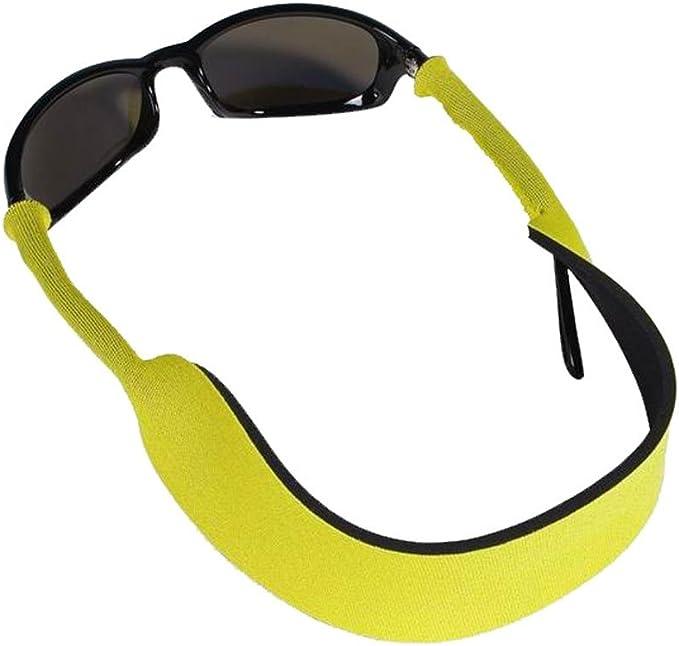 verstellbares Brillenband gelb
