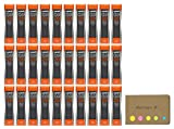 Uni NanoDia Mechanical Pencil Leads 0.9mm 2B, 30-pack/total 1080 Leads, Sticky Notes Value Set