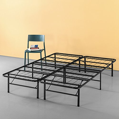 Zinus Callie 14 Inch Classic SmartBase Mattress Foundation / Platform Bed Frame / Box Spring Replacement / Quiet Noise-Free / Under-bed Storage, King