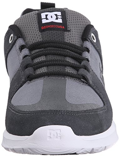 DC Lynx Lite Unisex Skate zapatos Grey/Red/White