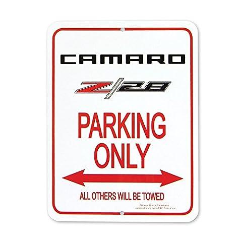 Camaro Z/28 Logo Parking Only Sign - 9